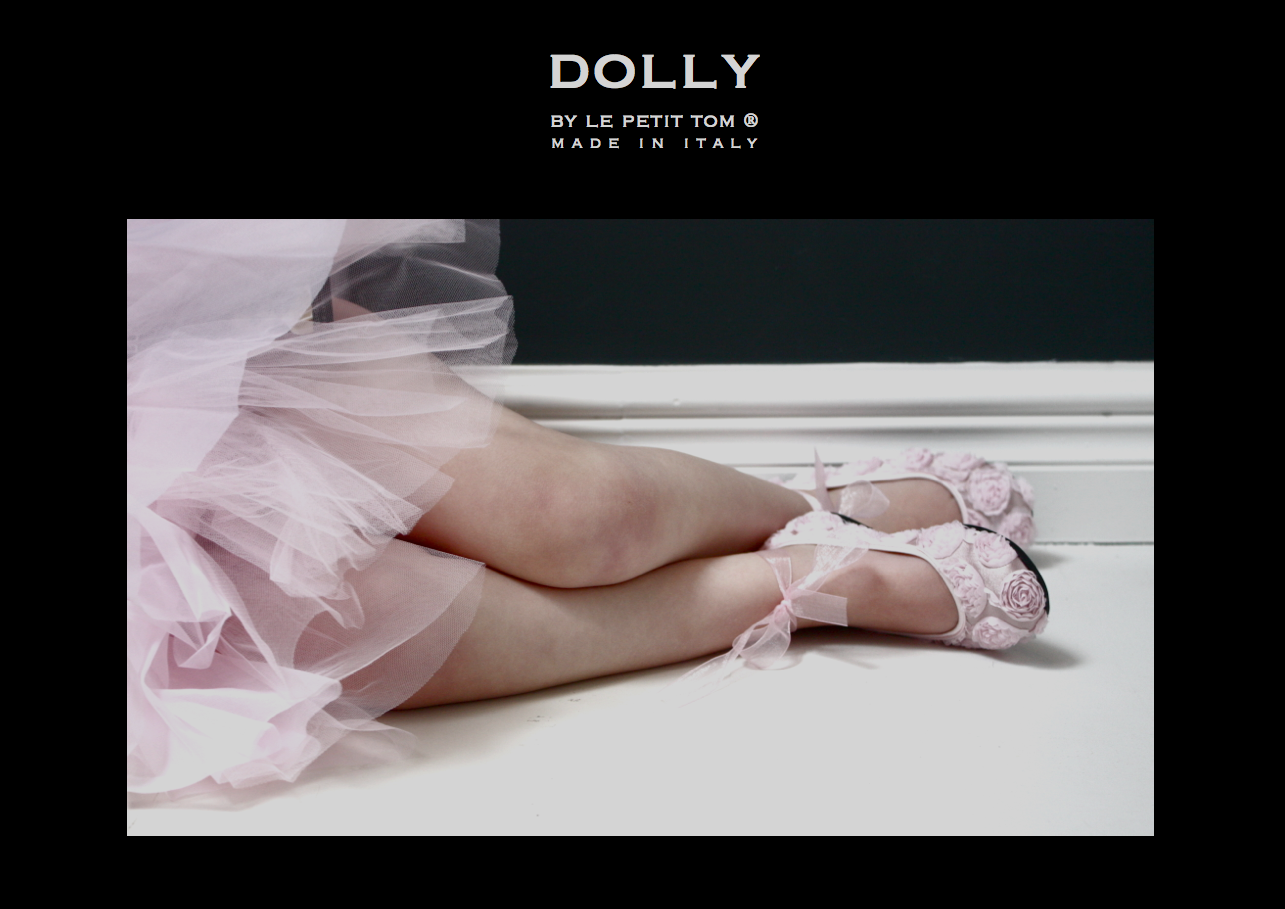 Dolly By Le Petit Tom Baby Shoes